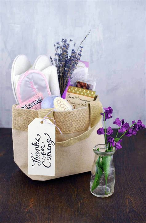 "Natural Burlap Bag with Handles 8"" Wedding Welcome Bag"