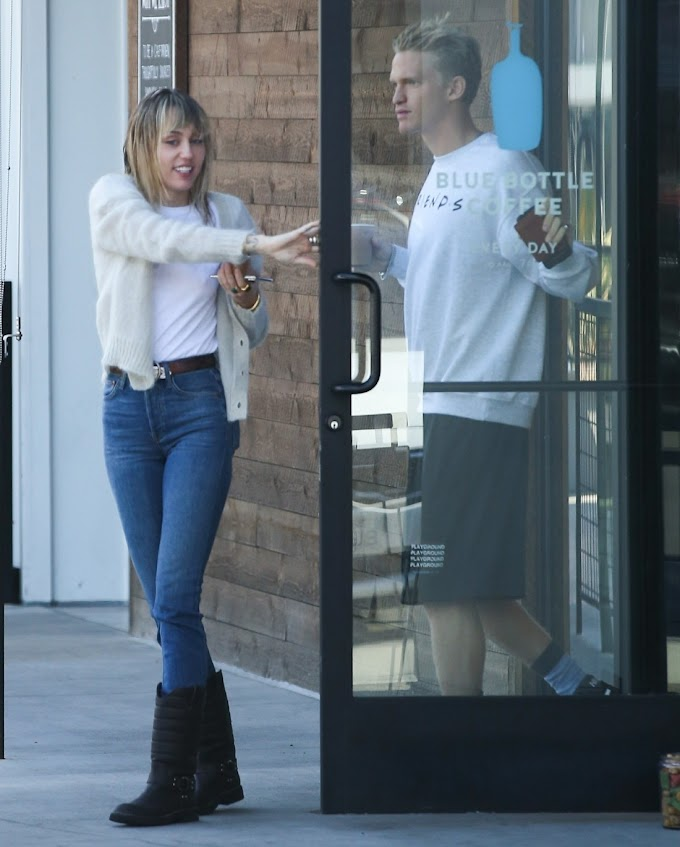 Cody Simpson was out with a Playmate, are Cody & Miley Cyrus over?