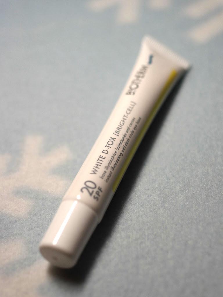 biotherm white detox eye base spf20
