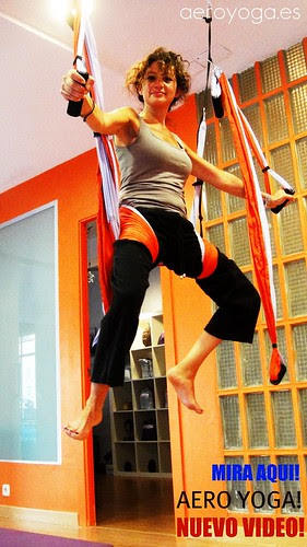 Aerial Yoga Class Madrid Yoga Studio