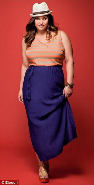 Modelo na tomada: Kris Humphries irmã Kaela fez sua primeira sessão de moda depois de ter assinado com a Ford Models