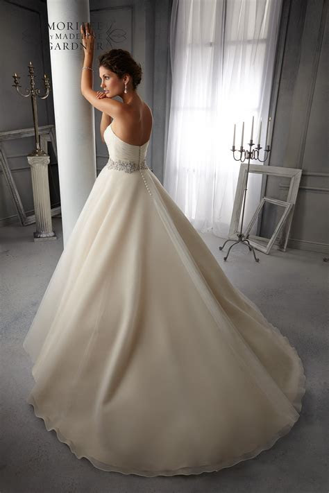 Mori lee 5276 wedding dress   Catrinas Bridal