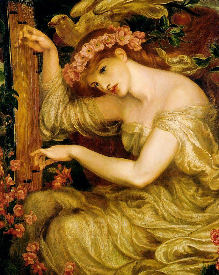 A Sea Spell by Dante Gabriel Rossetti