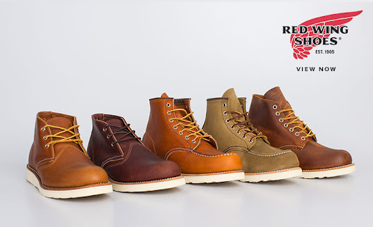 REDWING SHOES | Xile Clothing Blog