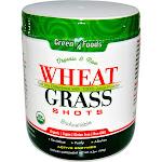 Green Foods Wheat Grass Shots Organic and Raw 5.3 oz.