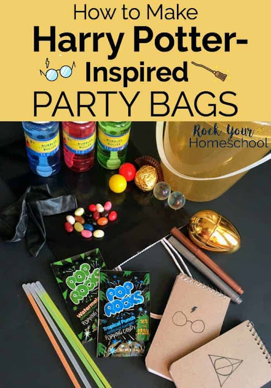How to Make Amazing Harry Potter-Inspired Party Bags - Rock Your Homeschool