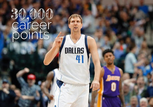 Dirk Nowitzki surpasses 30,000-career points mark; Who else is in the elite NBA club?