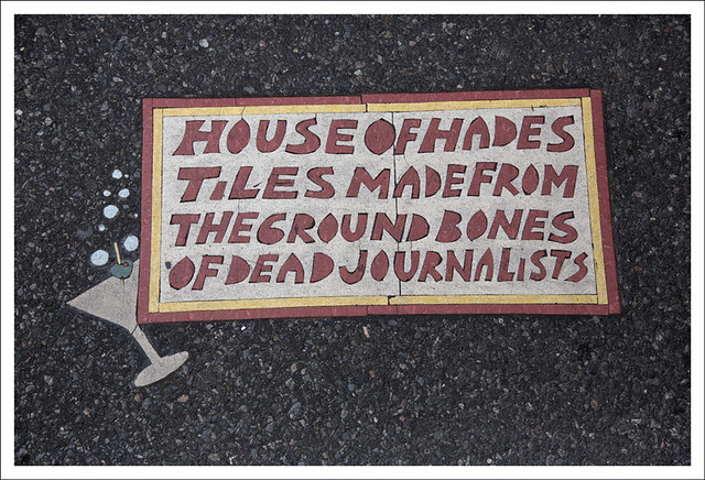 Toynbee Tile Park Ave and 51st ST NYC