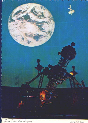 Historic Zeiss II Planetarium Projector at Pittsburgh's original Buhl Planetarium and Institute of Popular Science.