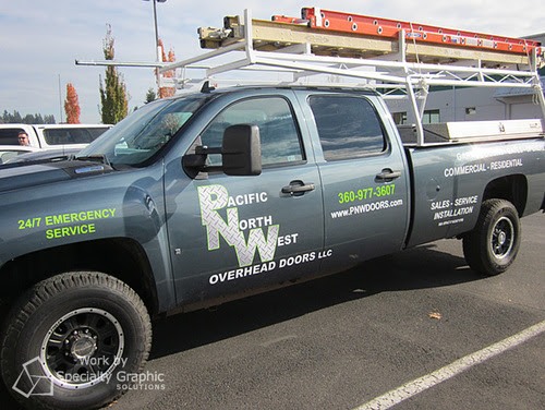 Using Vehicle Lettering and Logos to Brand in Portland Oregon!