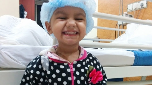 Appeal to Aid Ridhi to treat Cancer!