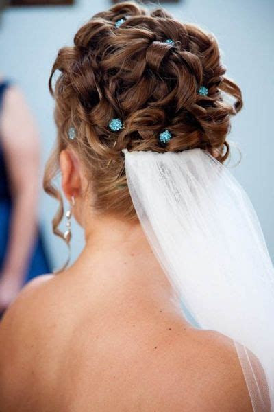 Best 842 A Bride's Bridal Hair images on Pinterest   Weddings