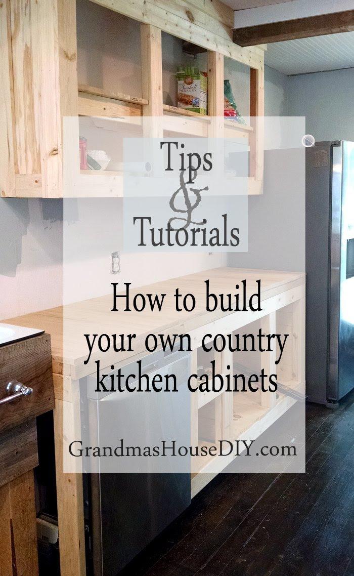 How to DIY ibuildi iyouri iowni white country ikitcheni icabinetsi