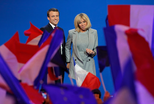 Emmanuel Macron is 39 and his wife is 64. French women say it's about time.