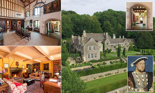 Estate where Henry VIII and Anne Boleyn stayed is on the market