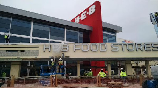 Go inside H-E-B's first two-story grocery store