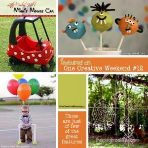 One Creative Weekend Week 12 Features