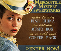 Mercantile Mystery Sweepstakes from Author Carol Cox