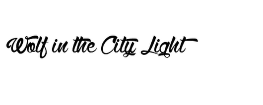 Wolf in the City Light Font Details | Download Free Fonts