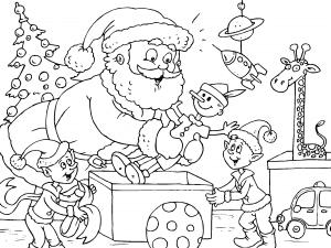 Dibujos De Postales De Navidad Para Colorear Paracolorear Net