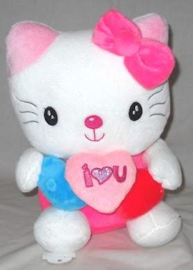 Gambar Helm Hello Kitty