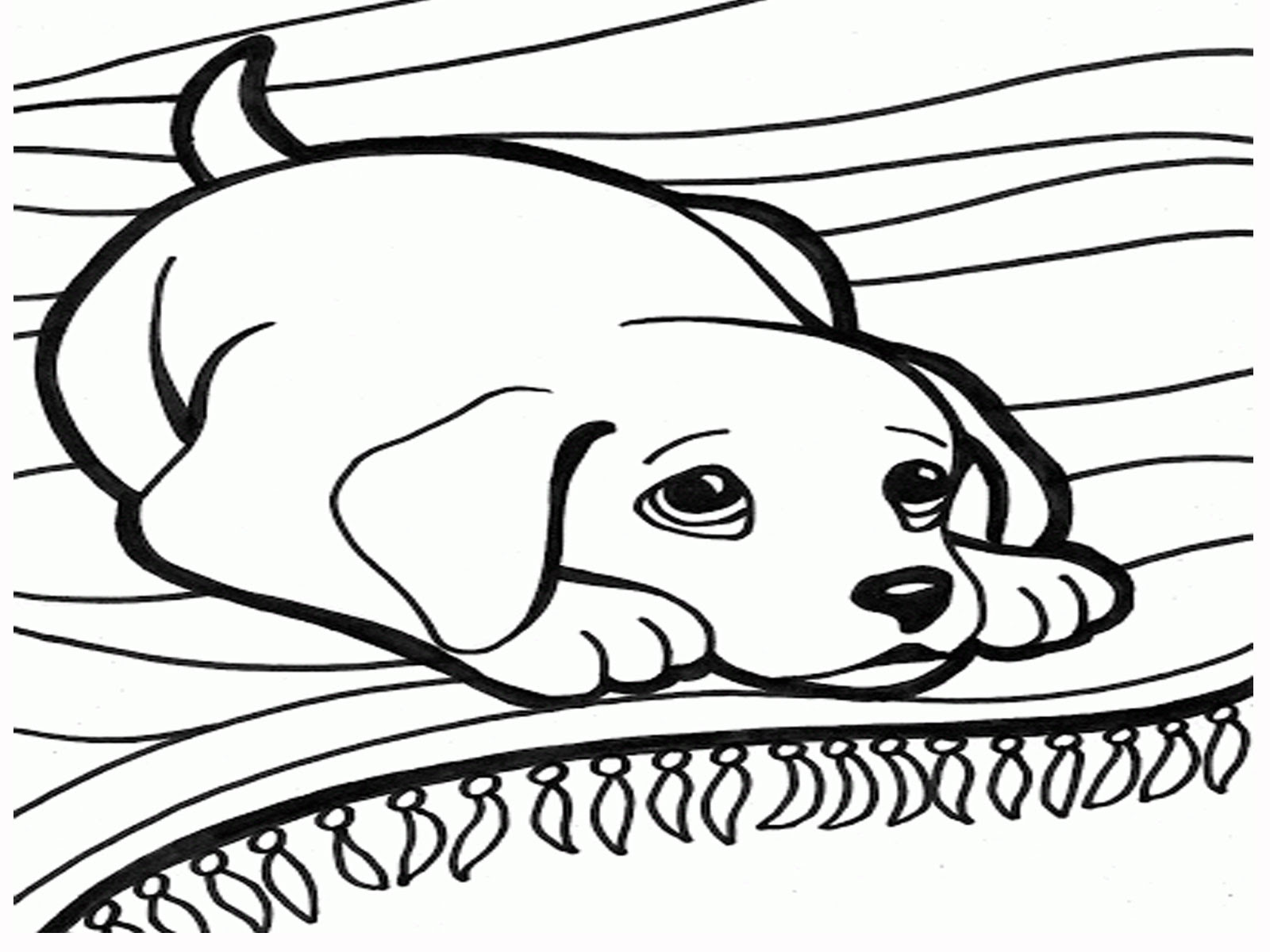 61 Top Free Coloring Book Pages Dogs Pictures