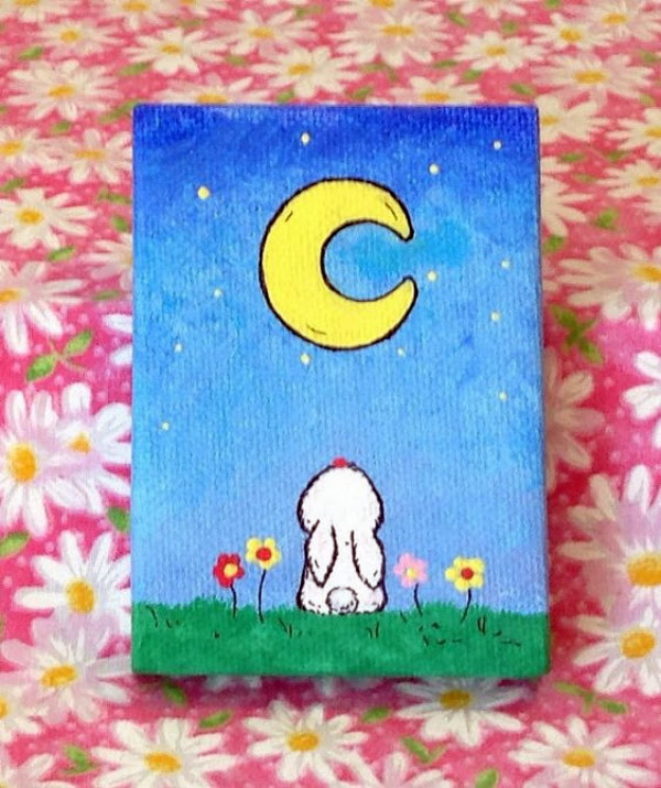 Best Canvas Painting Collection Easy Cute Mini