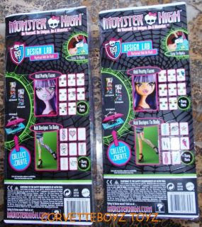 Monster High Create A Monster Design Lab Monster Doll Parts New