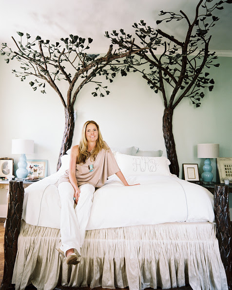 Bedroom - Caroline Robert in her New Orleans home