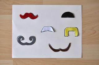 Mustache Matching Puzzle