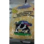 James Farm: Feather Shredded Mild Cheddar & Monterey Jack Cheese 5 Lb