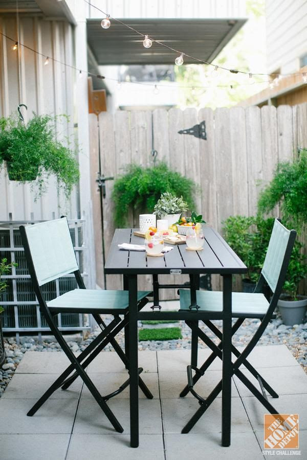 Decorating ideas for small backyard