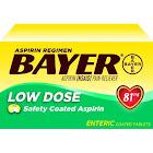 Bayer Low Dose Aspirin Regimen Tablets, 81 mg - 400 count