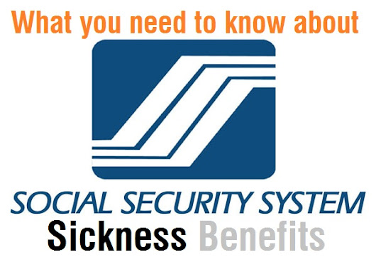 SSS Summary of Sickness Benefits (Social Security System Philippines)