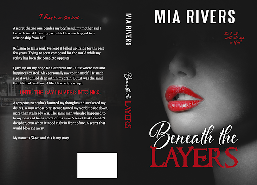 "Happy Cover Reveal Day! ""Beneath The Layers"" By Mia Rivers"