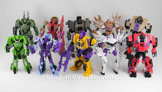Transformers Bruticus G2 Fall of Cybertron - modo robot Combaticons vs SDCC
