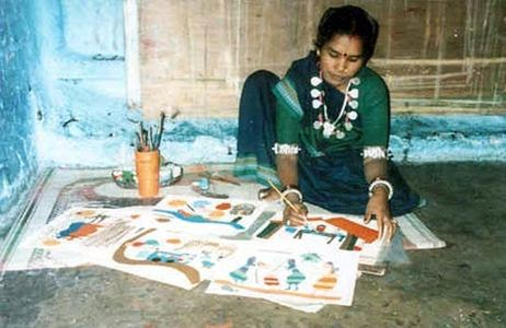 Journey of artist of Gond art