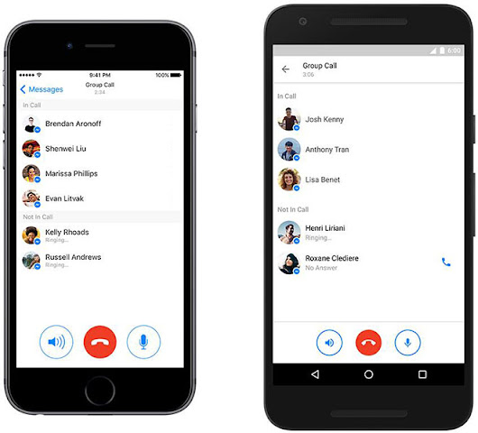 Facebook Messenger Group Calling Targets Hangouts And Skype, Call Up To 50 Friends On Voice, Video Coming