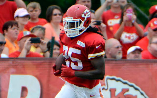 Andy Reid: Jamaal Charles injured his foot moving out of camp dorm