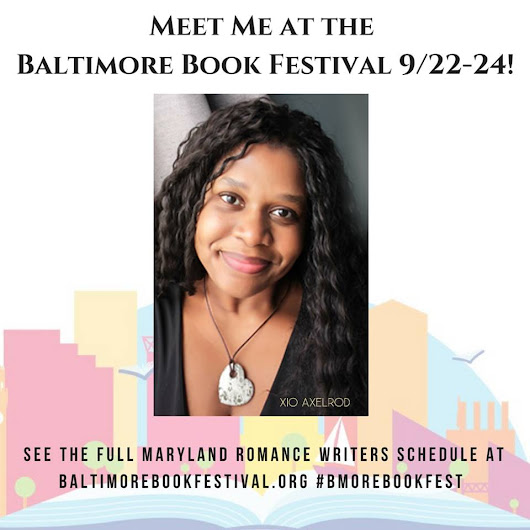 Join me this weekend in Baltimore!