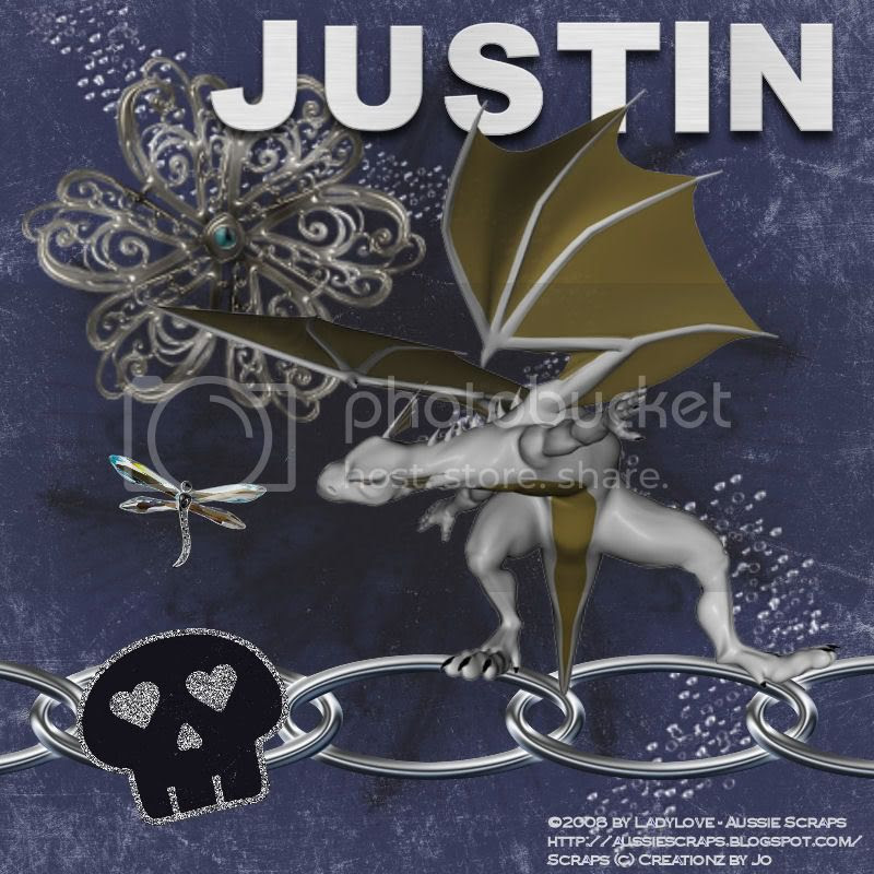 Dragon tag for Justin