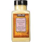 Kirkland Signature Granulated California Garlic Powder - 18 oz jar