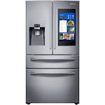 "Samsung Family Hub RF28NHEDBSR French Door Refrigerator - 35.7"" - 27.7 cu ft - Stainless Steel"