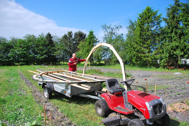 """building a """"temporary"""" greenhouse"""