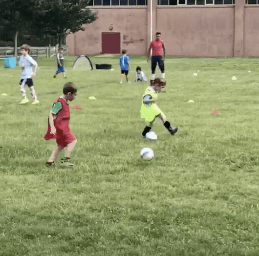 My Little Soccer Player - Lady and the Blog
