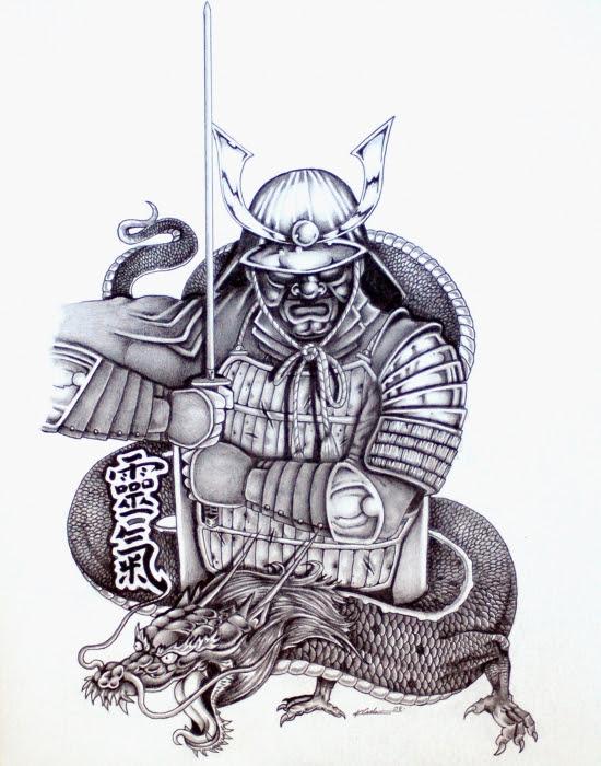 Vargesart Tattoo Samurai