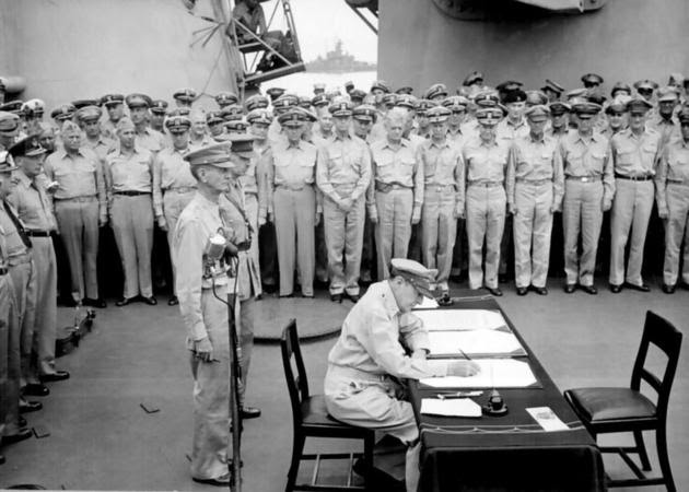 Formal Surrender of Japan in 1945