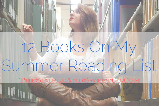 Shop My Summer Reading List