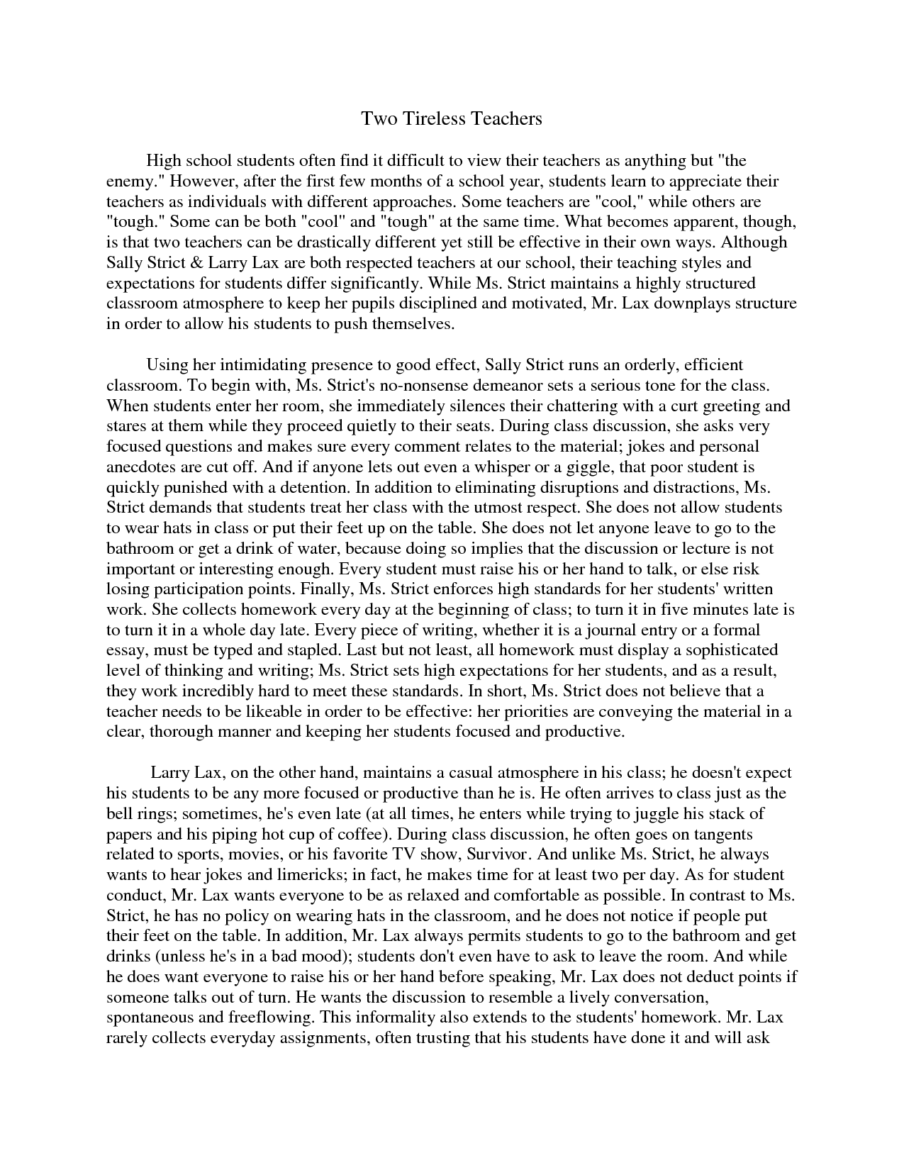 how to write compare and contrast essay quotes
