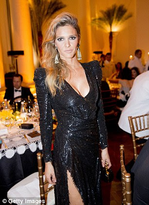 Glitzy: Brazilian actress Fernanda Lima is one of the presenters